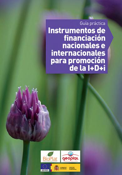 Guía Práctica de Instrumentos de Financiación Nacionales e Internacionales para Promoción de la I+D+i