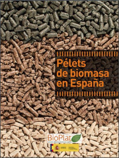 Pélets de biomasa en España (2013)